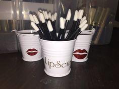 Lip wand bucket by HannasHomemades on Etsy