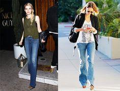 Prendas de la temporada: front pocket flare jeans Chloe, Prada, Flare Jeans, Bell Bottoms, Bell Bottom Jeans, Denim, Pants, Style, Fashion