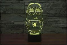 Minions 3D LED Light Lamp