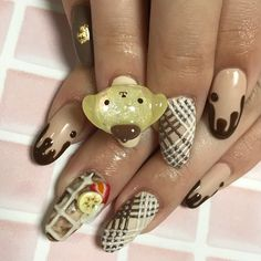 Soft Nails, My Nails, Creative Makeup, Gorgeous Nails, Kawaii Fashion, Beauty And The Beast, You Nailed It, Nail Art Designs, Hair Inspiration