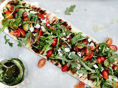 grilled grilled vegetable pizza summer grilled vegetable pizza grilled ...