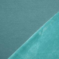 Alpenfleece Sweatshirt Stoff Meer Grün