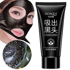 Face Skin Care Suction Nose Blackhead Remover Acne Treatment Masks Peeling Peel off Black Head Mud Facial Mask HB88