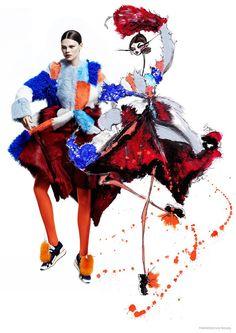 Fashion Magazine Novembro 2014 | Kelly Mittendorf por Chris Nicholls [Editorial]