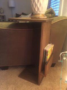 Canapé chaise bras reste plateau support de Table par KishronWood