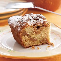 Caramel-Crumb Coffee Cake want to   try this