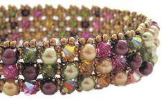 Dancing Sea Designs - Embellished RAW Bracelet Pattern