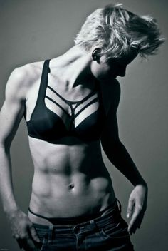 she is in incredible shape #fitness...nice body, healthy, nice tone