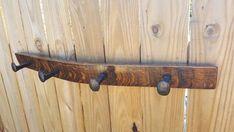 Wine Barrel Stave Hat Rack Coat Rack Scarf Rack by TexasRusticArt