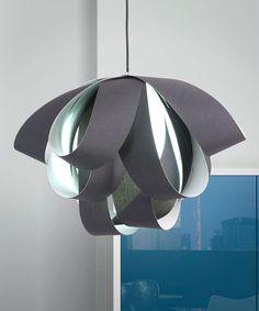Black Fringe Ceiling Lamp by Zuo Modern #zulily #zulilyfinds