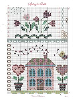 Cuore e Batticuore - Spring in Quilt - pattern part 3 of 4