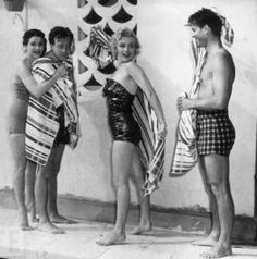 Glamoursplash: Marilyn Monday circa 1950