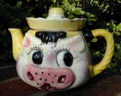 Cow Ornaments, Tea Cozy, Kettles, Cozies, Tea Cup Saucer, Teapots, Whimsical, Cups, Tableware