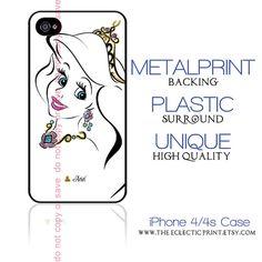Disney Princess Ariel Minimalist iPhone case