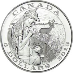 5 Dollar Silber Traditionen der Jagd - Hirsch PP