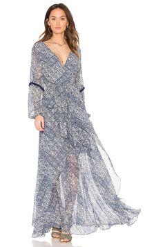 MISA Los Angeles Tula Dress en Parisienne Blue | REVOLVE