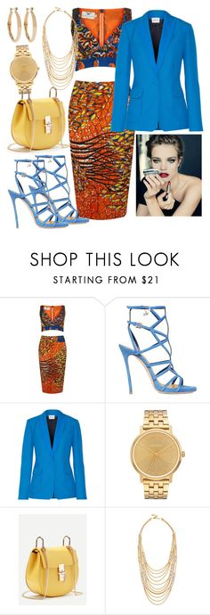 """""""Happy hour"""" by polynata ❤ liked on Polyvore featuring Dsquared2, PALLAS, Nixon, Ben-Amun and Kenneth Jay Lane"""