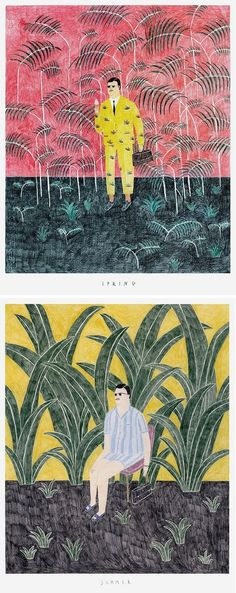 Illustrations by Lubek / on the Blog!
