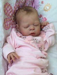 Joanna's Nursery Adorable Reborn Baby Girl New Release Erin by Adrie Stoete Reborn Baby Girl, Reborn Babypuppen, Reborn Toddler Dolls, Newborn Baby Dolls, Baby Born, Reborn Dolls, Life Like Baby Dolls, Life Like Babies, Silicone Reborn Babies