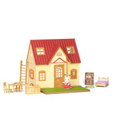 his Cozy Cottage comes fully assembled and ready to play with everything you need for hours of pretend play fun. | Gifts Under $75 | Gifts for Kids | Holiday Gift Guide