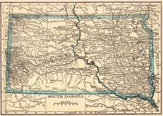 Wyoming County Map With Cities County Map Wyoming Wyoming - Us map highlight south dakota