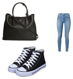 """""""Bez naslova #1"""" by camilahasicic ❤ liked on Polyvore featuring Mode, Prada und 7 For All Mankind"""
