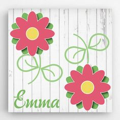 Our Personalized Flowers Kids Canvas Signs is a perfect gift for your child to have in their room. Measures: 14 x Personalized with 1 line and up to 15 characters. Personalized Gifts For Kids, Personalised Canvas, Personalized Pillows, Personalized Signs, Easter Gifts For Kids, Kids Gifts, Kids Canvas Art, Wall Canvas, Flower Canvas