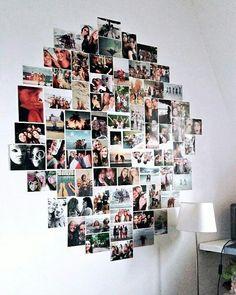 Pic is the shape of BTS logo, , Pic is the shape of BTS logo Existen algo mej Cute Room Ideas, Cute Room Decor, Teen Room Decor, Room Decor Bedroom, Wall Decor, Dorm Room, Bedroom Ideas, Bedroom Pictures, Photowall Ideas