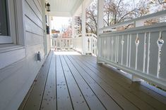 I want to add charm and character to my home. I found this tutorial on building flat sawn baluster railings. Looks super easy to do. Porch Railing Designs, Front Porch Railings, Porch Over Garage, Build Your Own, Super Easy, Building, Flat, Outdoor Decor, Sunrooms