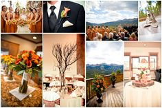 amber color wedding | breckenridge-wedding1