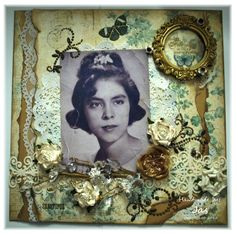 A Mother's Day Vintage Layout - Scrapbook.com