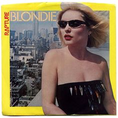 Rapture b/w Walk Like Me, Blondie, Chrysalis Records/USA (1981)