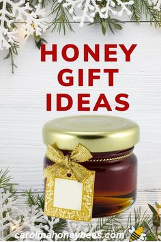 If you have a honey lover on your gift list, the job of finding a perfect gift is a sweet one. These honey gift ideas are sure to help finished your shopping task. Unfiltered Honey, Manuka Honey, Raw Honey, Honey Store, Tupelo Honey, Honey Sticks, Creamed Honey, Honey Recipes, Practical Gifts