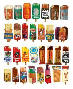retro ice lollies http://brownhillsbob.com/2011/07/16/the-cream-of-society/