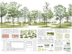 Ideas For Landscape Architecture Presentation Board Landscape Plane, Landscape Architecture Drawing, Landscape And Urbanism, Architecture Graphics, Landscape Design, Design Presentation, Architecture Presentation Board, Presentation Boards, Masterplan Architecture
