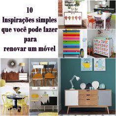 10 Inspirações simples que você pode fazer para renovar um móvel reciclar e decorar blog