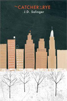 catcher + the rye | j.d. salinger  book design