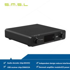 SMSL A6 HiFi Audio Digital Decoder AmplifierHeadphone AMPPower AMP AK4452CM6632ANJW1194A 50Wx2 DSD512 Coaxial/XMOS/USB DAC |  Check Best Price for SMSL A6 HiFi Audio Digital Decoder AmplifierHeadphone AMPPower AMP AK4452CM6632ANJW1194A 50Wx2 DSD512 Coaxial/XMOS/USB DAC. We provide the discount of finest and low cost which integrated super save shipping for SMSL A6 HiFi Audio Digital Decoder AmplifierHeadphone AMPPower AMP AK4452CM6632ANJW1194A 50Wx2 DSD512 Coaxial/XMOS/USB DAC or any product…