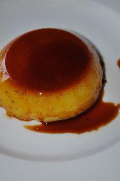 This delicious orange flavoured baked custard .... do I really need to say it!  Sooooooo sexy!!!