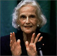Ruth Bell Graham!  A REAL STRONG WOMAN who loved GOD!