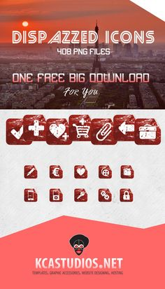 Download Free High Quality Dispazzed Icon Set: http://kcastudios.net/graphics-designing.html #graphics #freegraphics #graphicaccessories #accessories #designing #freegoodies #freestuff #kcastudios