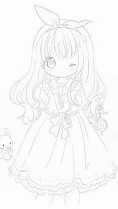 Anime Drawings Sketches, Manga Drawing, Art Drawings, Chibi Sketch, Anime Sketch, Kawaii Art, Kawaii Anime, Anime Lineart, Dibujos Anime Chibi