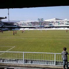 Photo taken at Estadio Municipal Castalia by Maria A. on 4/1/2012