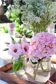 Ländlicher Stil für den Sommer! #twbm #flowers #blumen #dekoration #decoration #vase #sommer #summer