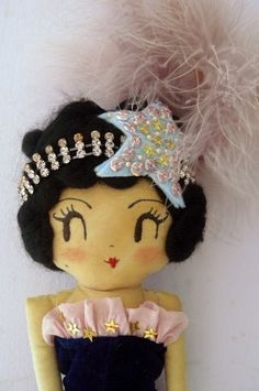 Circus Showgirl Doll by Curious Pip
