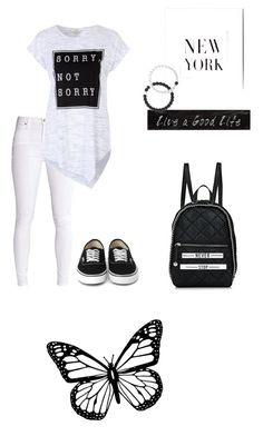 """× black and white ×"" by neon-ocean on Polyvore featuring STELLA McCARTNEY, 3R Studios and Lokai"