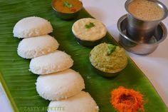 Idly Dosa Sambar Recipe | Now enjoy hot & fluffy idlies along with Sambar & Chutney.