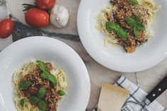 Opskrift på grøntsags bolognese (skidesund og pakket med smag) – STONEMUSE