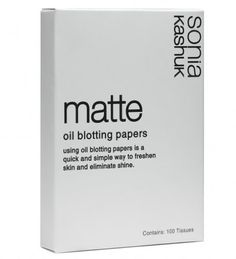 Sonia Kashuk Matte Oil Blotting Papers - 100 Tissues -- More info could be found at the image url.
