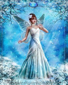 Fairy goddess | winter fairy goddess | Pretty Faerie